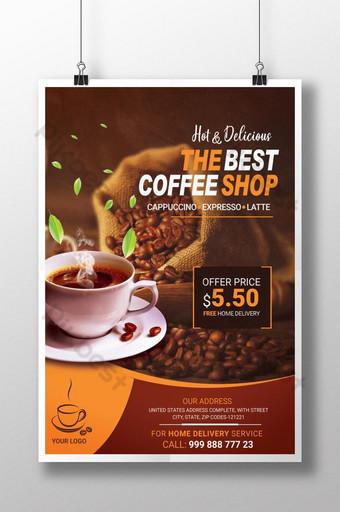la mejor plantilla psd de la tienda coffeeeeeee Modelo PSD