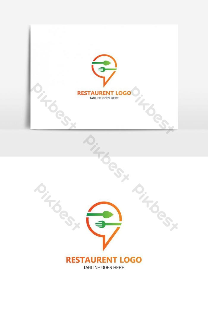 Restaurant Logo Cafe Logo Icon And Label Design For Restaurant Menu Png Images Ai Free Download Pikbest
