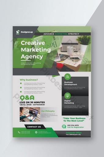 meilleur flyer d'agence de marketing 2020 meilleur flyer d'affaires pour le marketing Modèle AI