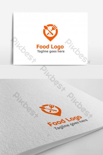 Modèle de conception de logo de livraison de nourriture Restaurant Design de logo de nourriture Modèle EPS