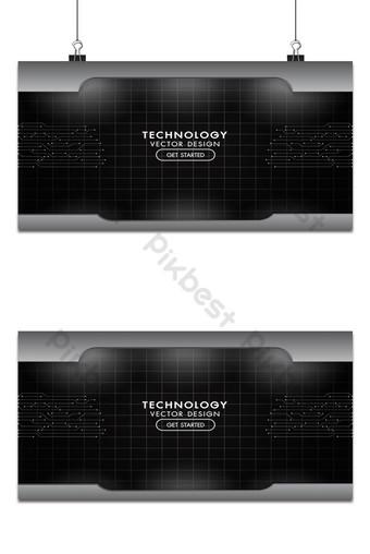 metal negro y gris fondo tecnología red textura aluminio placas de acero Fondos Modelo AI