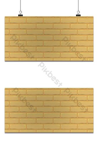 Fondo de pared de ladrillo en color marrón. Fondos Modelo EPS