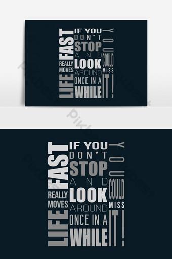 thiết kế kiểu chữ nghệ thuật hiện đại áo phông thiết kế đồ họa vector Công cụ đồ họa Bản mẫu EPS