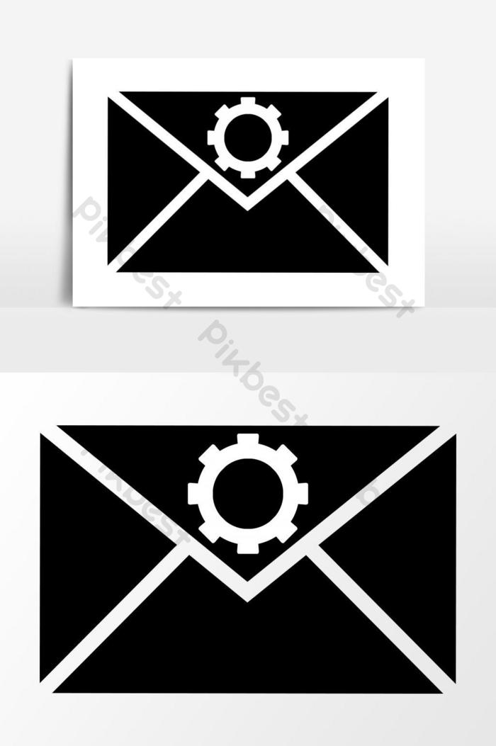 Email Setting Icon Vector Graphics Png Images Eps Free Download Pikbest