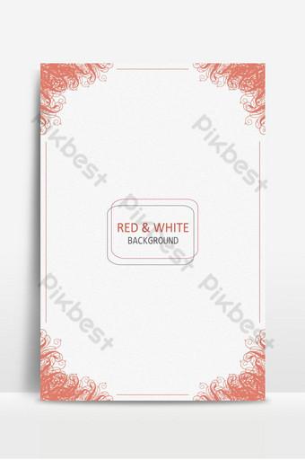 diseño de fondo simple rojo y blanco Fondos Modelo AI