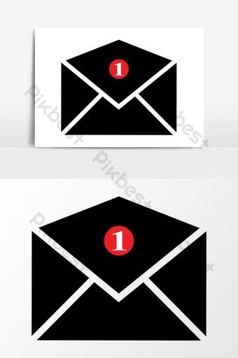 رسائل البريد الإلكتروني رمز مكافحة ناقلات الرسومات صور PNG قالب EPS