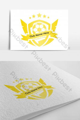 logotipo do clube de futebol símbolo do ícone do logotipo do futebol Modelo AI