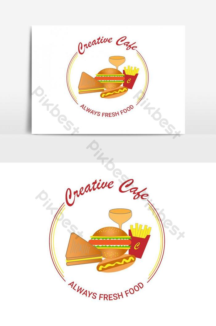 Creative Logo Design For Cafe And Restaurant Png Images Psd Free Download Pikbest
