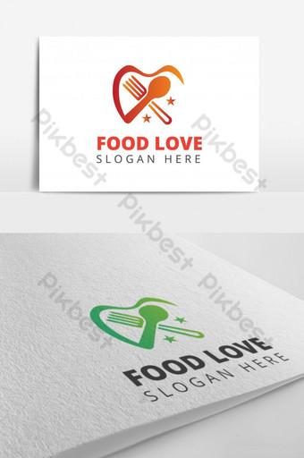 restaurante diseño de logo para comida a domicilio comida comer comida cocinando comida vender comida entrega a domicilio Modelo EPS