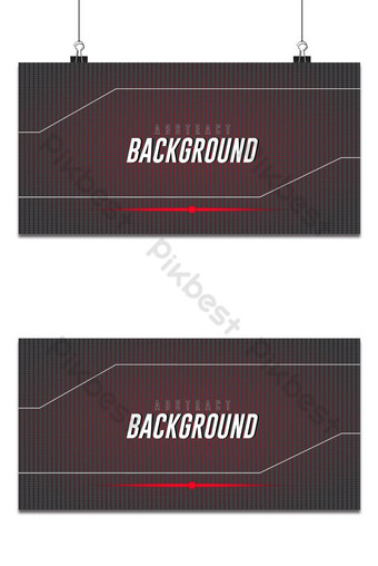 Fondo abstracto degradado de color rojo y círculo negro se han utilizado publicaciones en redes sociales Fondos Modelo EPS