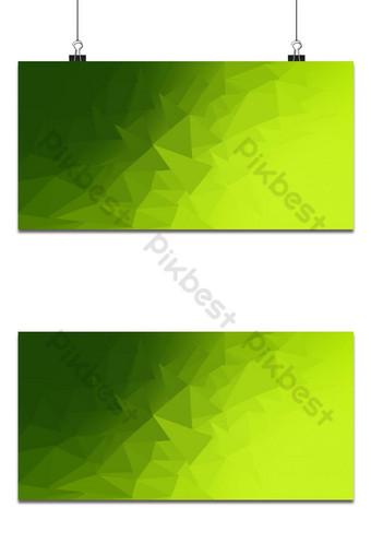 أصفر أخضر متدرج خلفية مضلعة غير منتظمة خلفيات قالب PSD