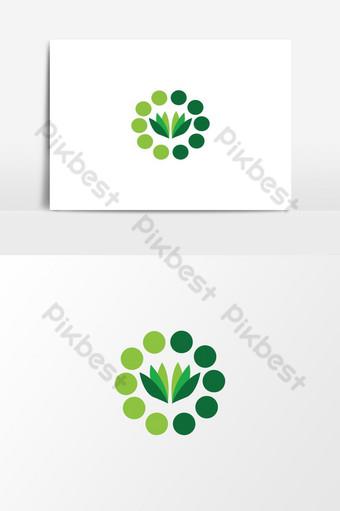 diseño de logotipo de empresa moderna Elementos graficos Modelo AI
