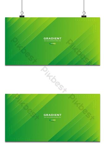 Fondo abstracto minimalista suave y verde degradado de color fluido simple de moda con líneas Fondos Modelo EPS