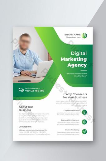 Corporate Business Flyer affiche brochure couverture conception mise en page fond Modèle EPS