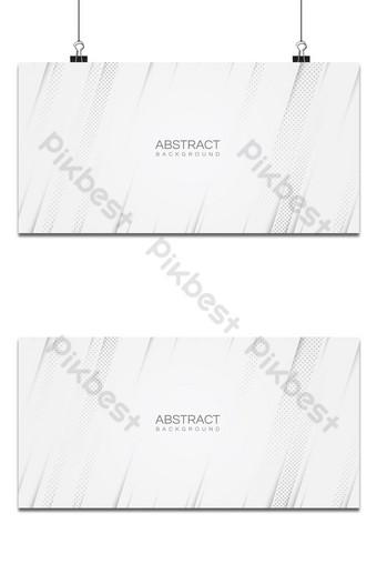 estilo de semitono blanco líneas de rayas diagonales limpias fondo abstracto Fondos Modelo EPS