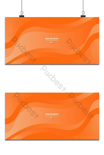 Fondo de onda degradado abstracto degradado de color fluido simple de moda con efecto de líneas Fondos Modelo EPS
