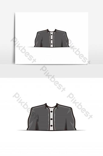 traje, tienda de ropa, logotipo, diseño, inspiración Elementos graficos Modelo AI