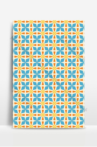 Seamless colorful pattern design for fabric, textile, ceramic tile, mosaic, surface, paper Backgrounds Template EPS