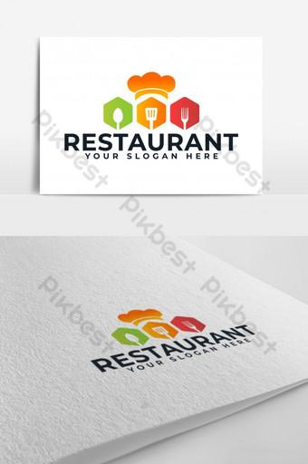 rey restaurante de comida vector logo Modelo AI