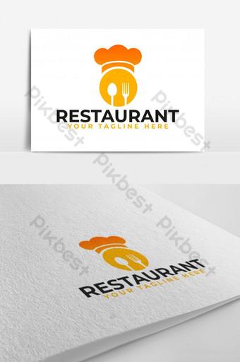 comida rey restaurante vector logo Modelo AI
