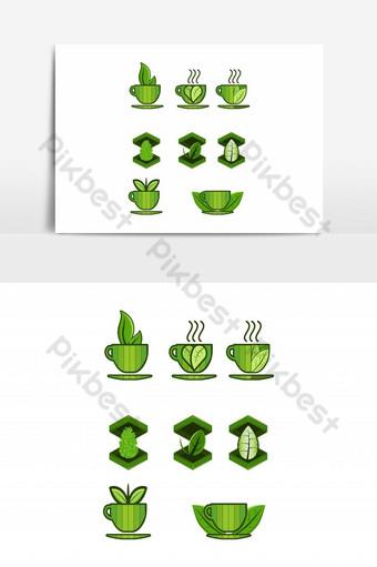 logotipo símbolo diseño vector ilustración icono idea gráfica plantilla creativa abstr Elementos graficos Modelo AI