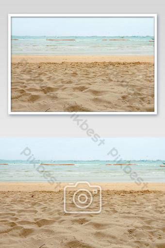 arena en la playa de pattaya, vista, hermoso, mar, en, verano, de, tailandia Fotografía Modelo JPG