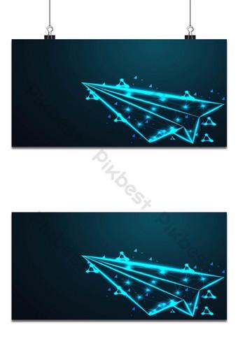 طائرة ورقية الطائرات الأسلاك المجردة منخفضة شبكة إطار سلكية متعددة الأضلاع يشبه سلبيات خلفيات قالب AI