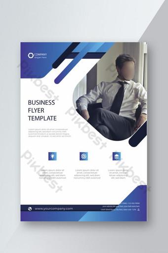 design de modelo moderno de folheto de negócios Modelo EPS