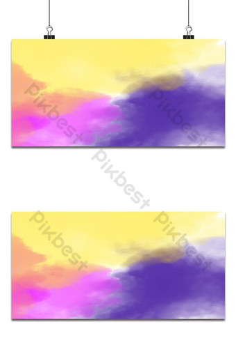 humo de vape púrpura rosa azul sobre fondo negro aislado Fondos Modelo PSD