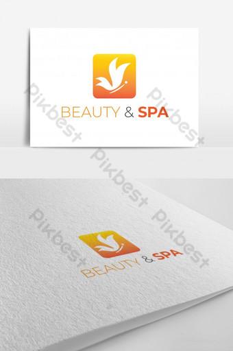 plantilla de diseño de logotipo de salón de belleza spa Modelo AI