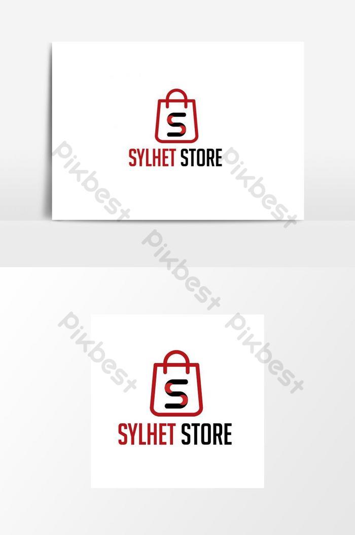 Conception De Logo Boutique Element Graphique De Modele De Logo Ai Elements Graphiques Gratuit Pikbest