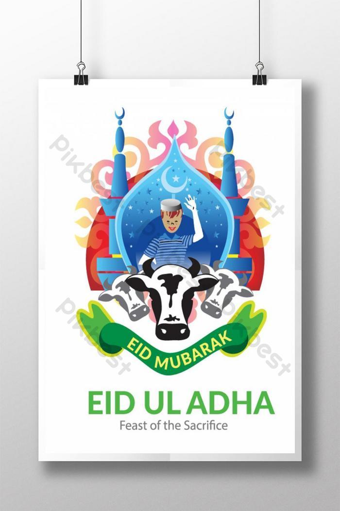 tờ rơi quảng cáo lễ kỷ niệm lễ eid al adha