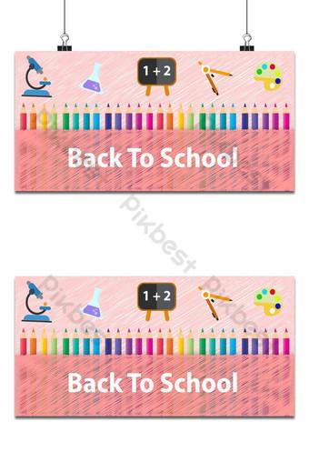 fondo rosa para el regreso a la escuela Fondos Modelo EPS