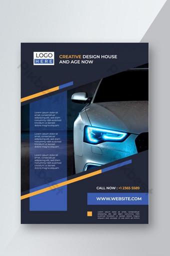 affiche flyer dépliant brochure couverture conception mise en page espace pour fond photo Modèle EPS