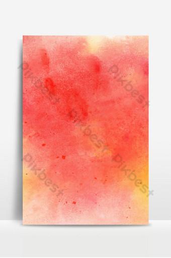 fondo de acuarela abstracta roja fresca Fondos Modelo AI