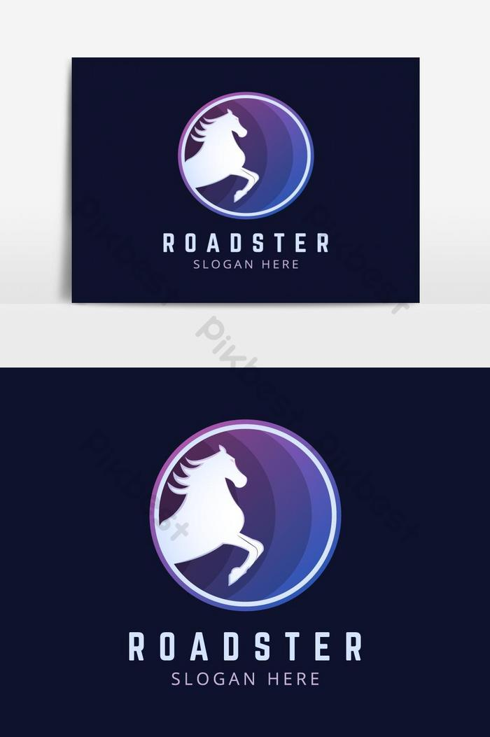 Modern Roadster Horse Logo Design Png Images Ai Free Download Pikbest