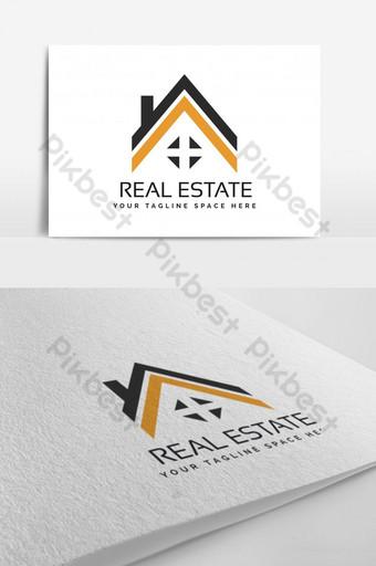 Création de vecteur de logo professionnel immobilier Modèle AI
