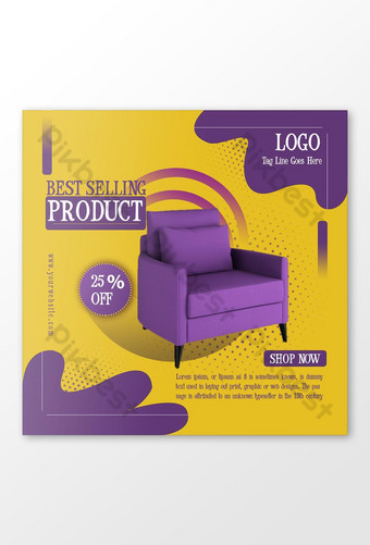 Best Selling Product Social Media Post Template PSD
