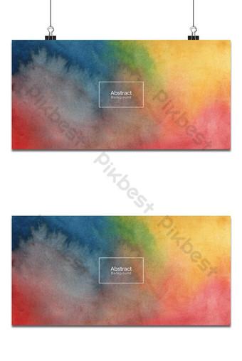 Textura colorida del fondo del diseño de la acuarela Fondos Modelo EPS