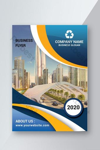 Conception de flyers commerciaux simples Modèle PSD