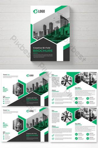 قالب تصميم كتيب أعمال الشركات قالب PSD