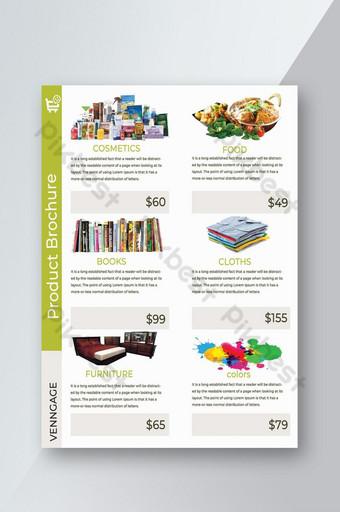 modèle de livre de produits ou modèle de flyer Modèle PSD