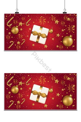 Joyeux Noël et bonne année fond pour bannière d'affiche de cartes de voeux Fond Modèle EPS
