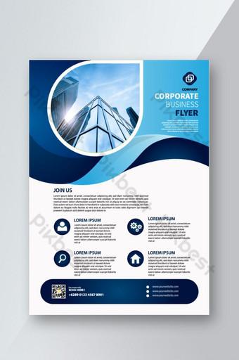 Modèle de conception de flyer d'entreprise professionnelle créative Modèle PSD