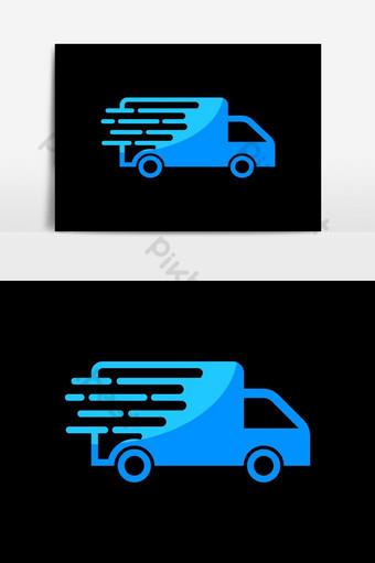 Ilustración de servicio automático de Vector de plantilla de icono de logotipo de coche automotriz Elementos graficos Modelo AI