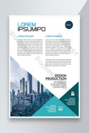 conception de modèle de flyer simple créatif Modèle EPS
