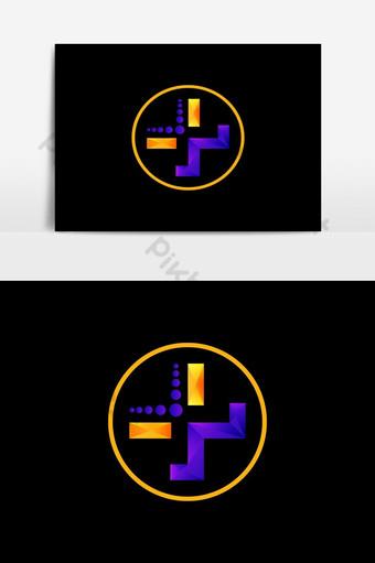 Logotipo de salud Diseño de logotipo médico Elementos graficos Modelo AI