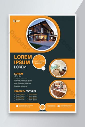 Maison moderne à vendre Flyer Modèle EPS