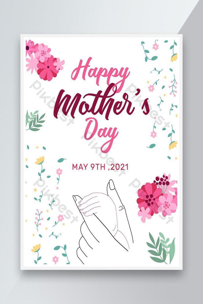 desain poster hari ibu