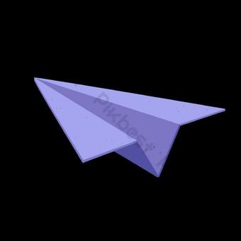 wektor samolotu Elementy graficzne Szablon AI